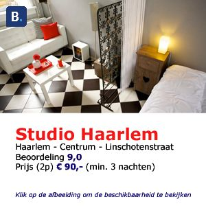 bed and breakfast studio Haarlem